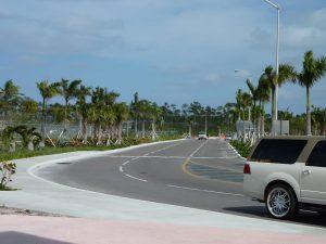 Salida del aeropuerto de Nassau, Bahamas