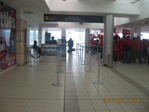 Interiores del Aeropuerto de Toncontín