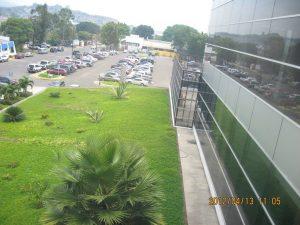 Parqueo del aeropuerto de Toncontín