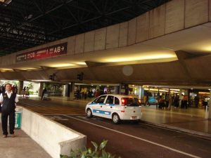 Aeroporto de CUMBICA, terminal doméstico - Guarulhos SP