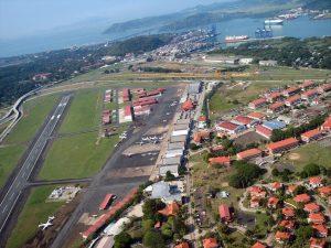 Vista aérea del Aeropuerto Marcos Gelabert
