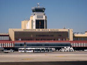 Aeropuerto de Madrid-Barajas exterior - autor