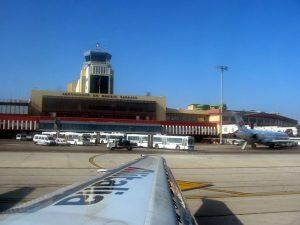 Aeropuerto de Madrid, Llegadas de vuelos
