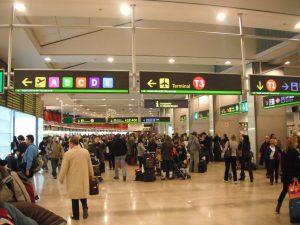 Aeropuerto de Madrid, salidas de vuelos