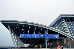Shanghái China, international aiport