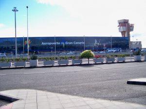 Gando Aeroport, Las palmas