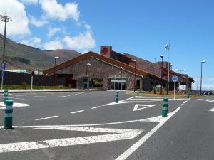 Aeropuerto el Hierro en las Islas Canarias