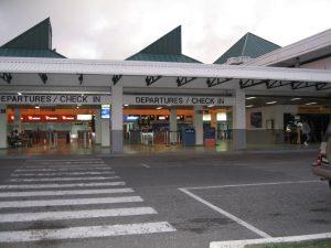 Aeroporto a Vieux Fort