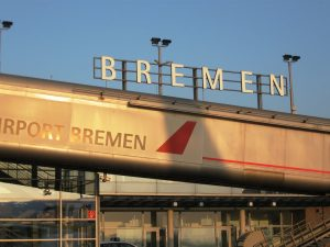 Airport Bremen Germany
