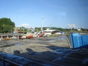 Aeropuerto Internacional Gustavo Rojas Pinilla (hangares)