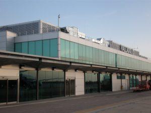 Zona de llegadas del Aeropuerto de Valladolid