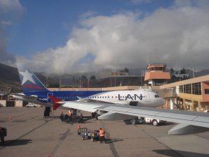 Aeropuerto de Cuzco Llegadas de vuelos