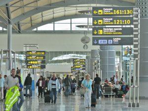 Terminal 3 Departures, Alicante Airport