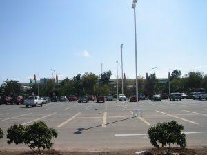 Estacionamiento del Aeropuerto Cerro Moreno