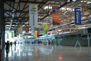 Interiores del Aeropuerto de Weeze