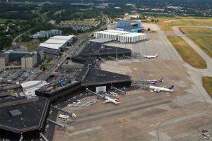 Der Airport von oben