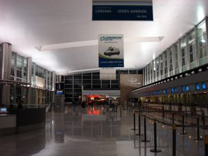 Interiores del Aeropuerto de Córdoba