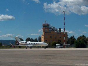 Terminal aéreo de Umbria