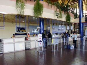 Interiores del Aeropuerto de Cochabamba