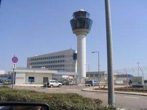 Torre de control del Aeropuerto de Atenas