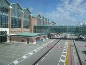 Aeropuerto de Venecia Italia.