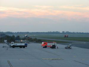 Pista te aterrizaje del Aeropuerto de Weeze