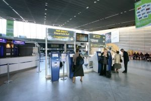Le Hall de l'Aéroport de Montpellier