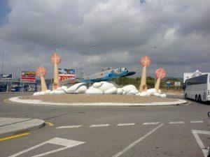 Entrada al Aeropuerto de Reus