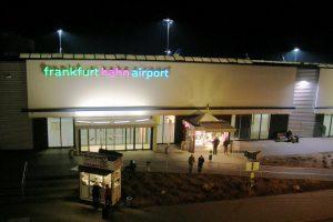 Hahn Airport at Night