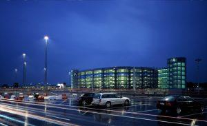 Carpark at Hamburg airport