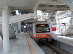 Metro in El.Venizelos airport