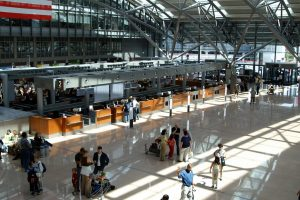 Interiores del Hamburg International Airport