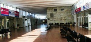 Salón principal del Aeropuerto el Sauce Viejo