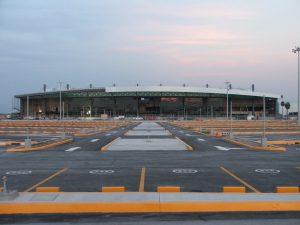 Estacionamiento del Aeropuerto de Monterrey