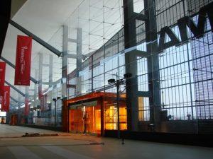 Vista Interior Fachada Terminal B Aeropuerto de Monterrey