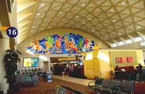 Airport Terminal in Calgary