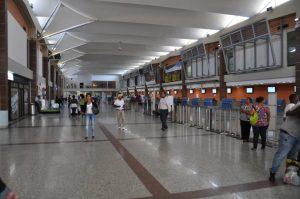 Instalaciones del Aeropuerto Internacional de Las Américas.