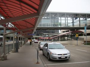 Edmonton International Airport Pick Up Area