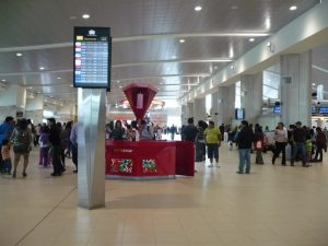 Aeropuerto de Quito, interior del terminal