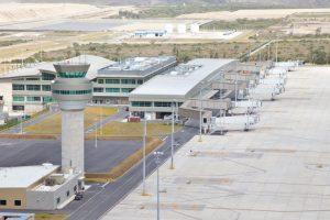 Vista Aerea del Aeropuerto Mariscal Sucre