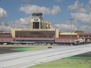 Vista panorámica del Aeropuerto Madrid Barajas