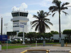Torre de control del Aeropuerto de Veracruz