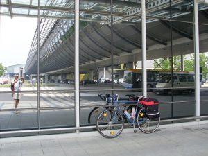 Am Flughafen Leipzig - Halle