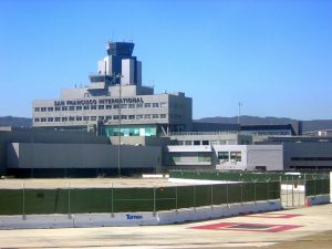 San Francisco Airport With Control Tower