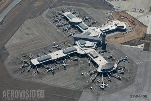 Las Vegas, McCarran airport from air