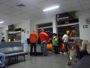 Interiores del Aeropuerto de Chiclayo