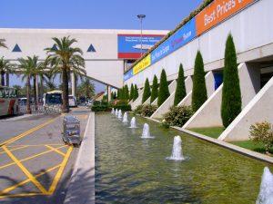Instalaciones del Aeropuerto de Palma de Mallorca.