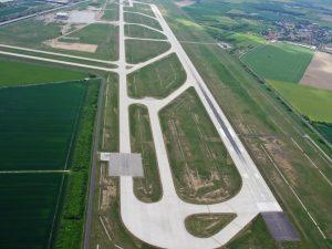 Pista de aterrizaje del Aeropuerto de Leipzig-Halle