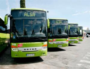 Autobuses de la línea 827 Madrid