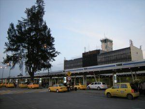 Taxis en el Aeropuerto El Dorado - Bogotá